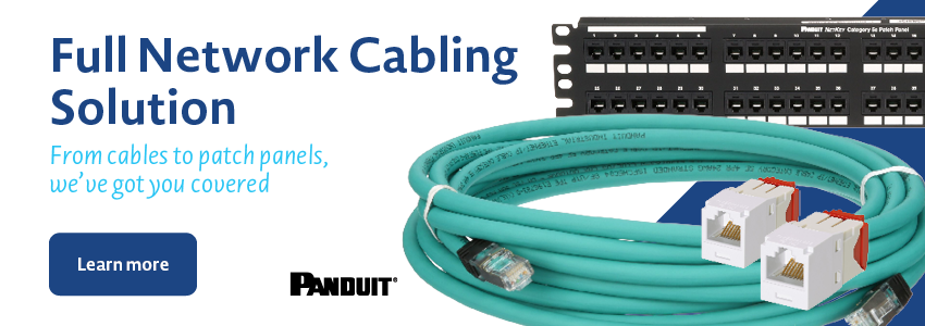 Panduit Datacomm Full Network Cabling Solution From Cables to Patch Panels